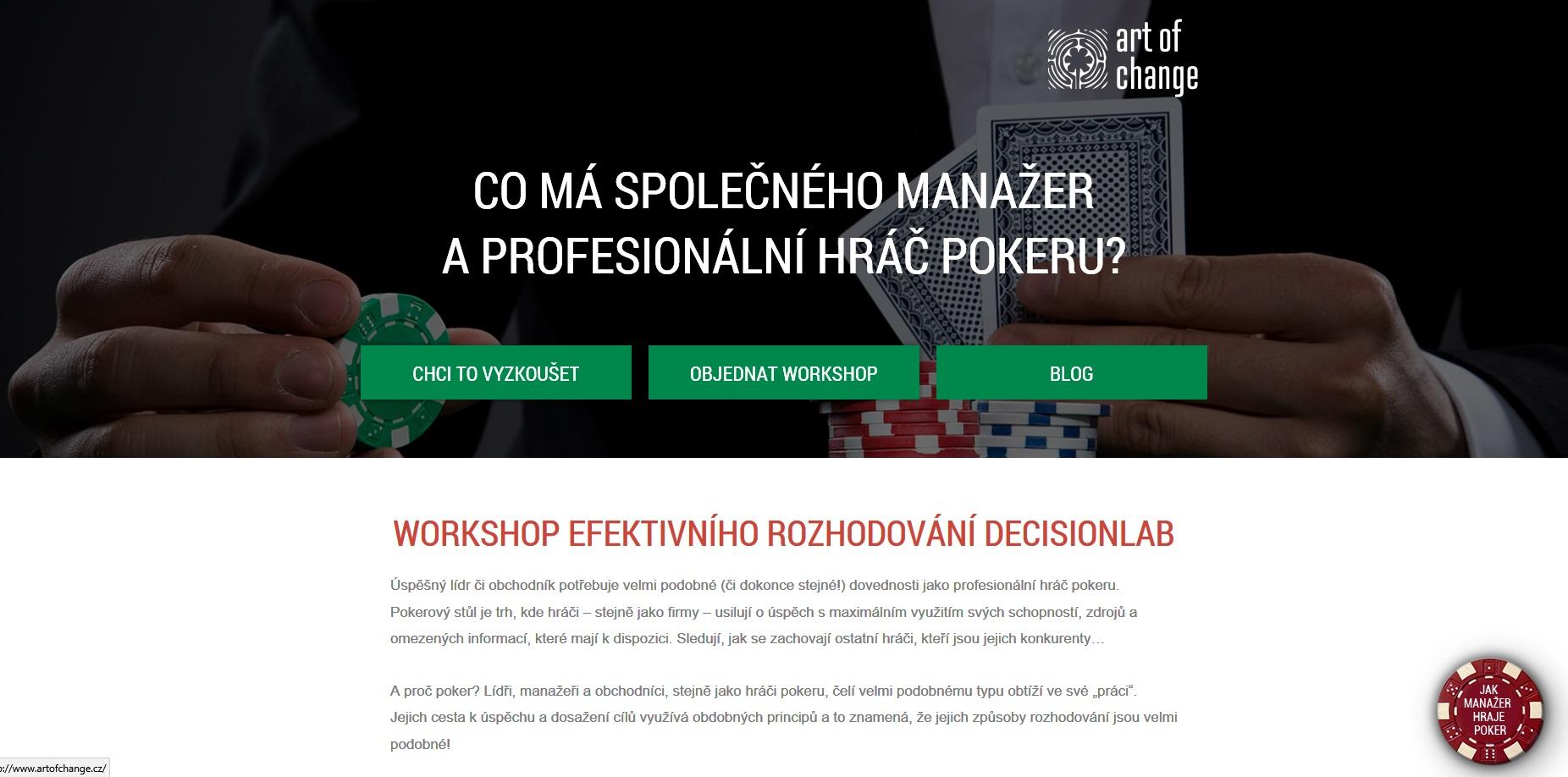 Web Umění efektivního rozhodování: Workshop pro manažery a obchodníky